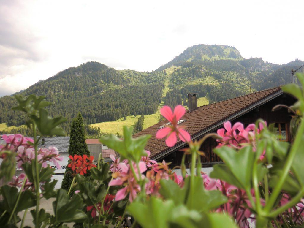Imbergerhorn balkonblick